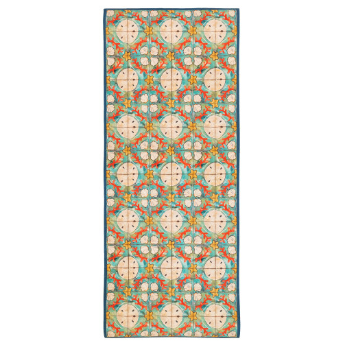 Illusions Ocean Shell Tile Indoor/Outdoor Rug - 4 Sizes