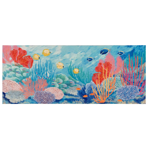 Illusions Ocean Seascape Indoor/Outdoor Rug - 6 Sizes