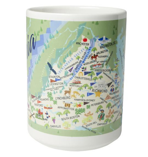 Ceramic Mug - Virginia - Set of 4