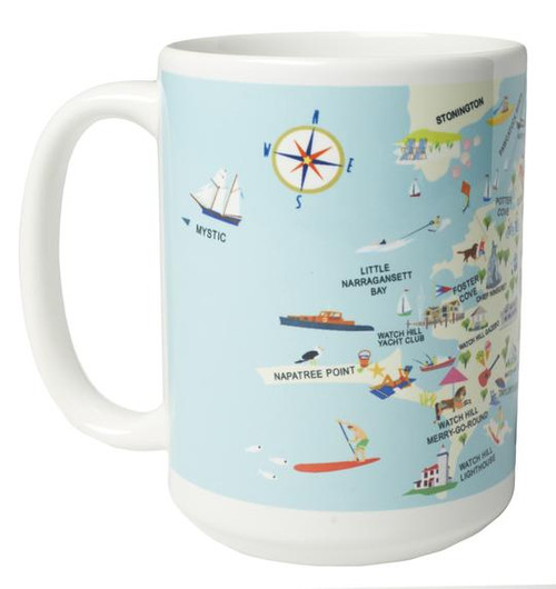 Ceramic Mug - Watch Hill - Set of 4