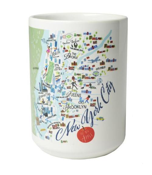 Ceramic Mug - New York City - Set of 4