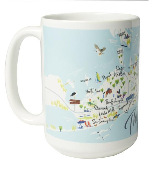 Ceramic Mug - The Hamptons - Set of 4