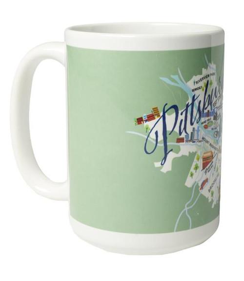 Ceramic Mug - Pittsburgh - Set of 4