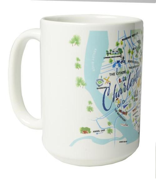 Ceramic Mug - Charleston - Set of 4