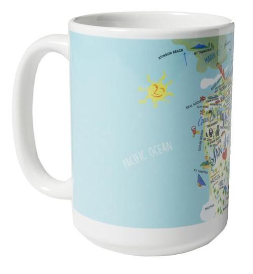 Ceramic Mug - San Francisco - Set of 4