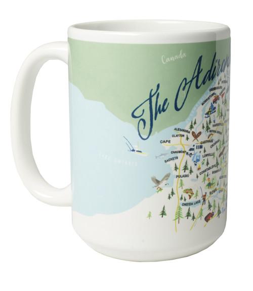 Ceramic Mug - The Adirondacks - Set of 4