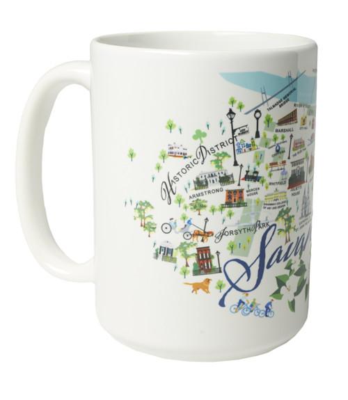 Ceramic Mug - Savannah - Set of 4