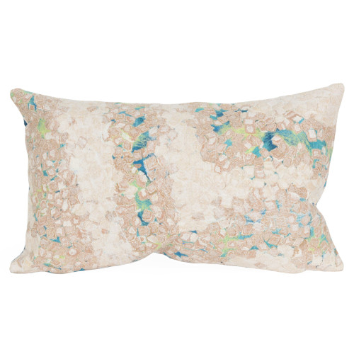 Visions II Cool Elements Indoor/Outdoor Throw Pillows - 2 Sizes Avail
