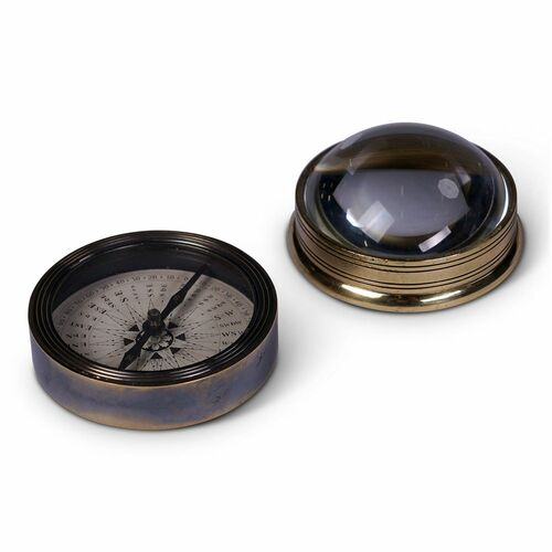 Compass and Chart Magnifier