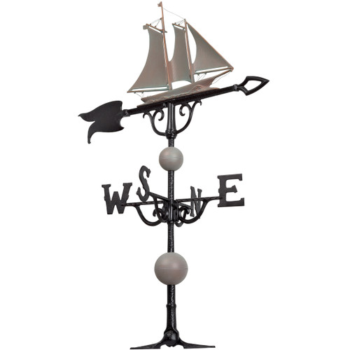 "46"" Yacht Nautical Weathervane"