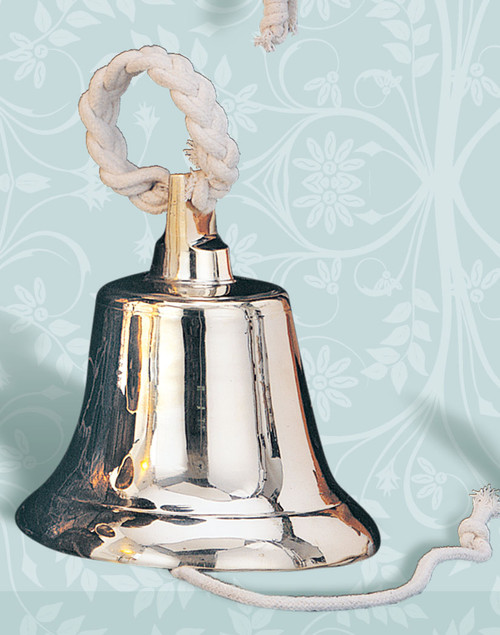 Brass Ship Bell with Rope - 4 sizes available