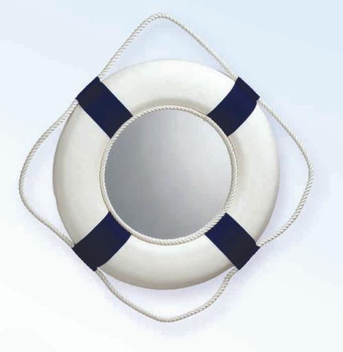 "Life Ring Mirror - Blue - 13"""