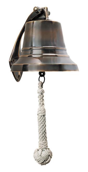 """Bronze Ship Bell 5 """""""