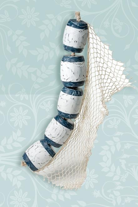 Small Decorative Buoys on Rope