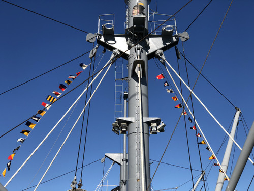 Nautical Deluxe Signal Flags on String - Set of 40