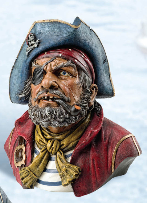 One Eyed Pirate Coin Bank
