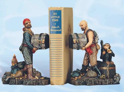 Decorative Pirate Bookends