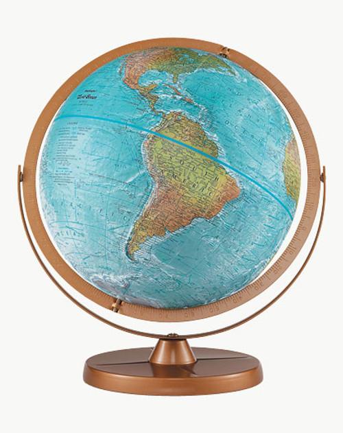 "Replogle Atlantis 12"" Blue Globe"
