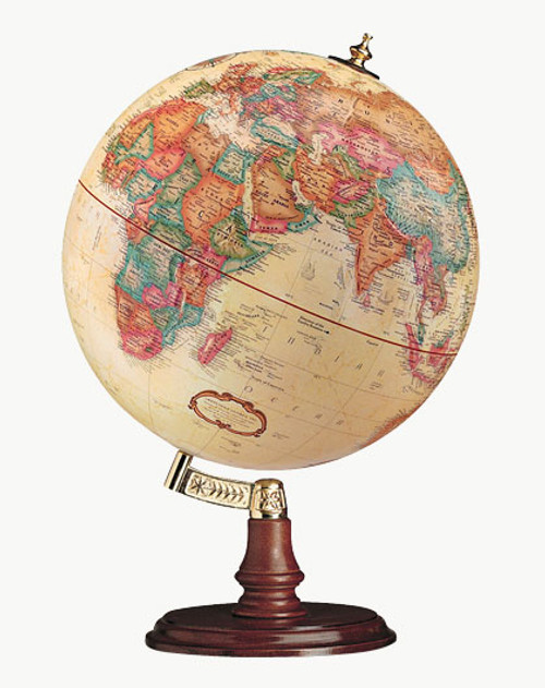"Replogle Cranbrook 12"" Antique Globe"
