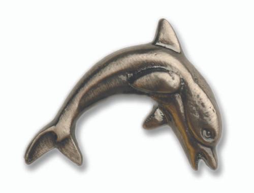 Nautical Cabinet Knobs - Dolphin - Minimum of 3