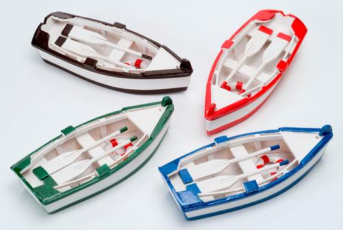 Colorful Rowboats- Set of 4