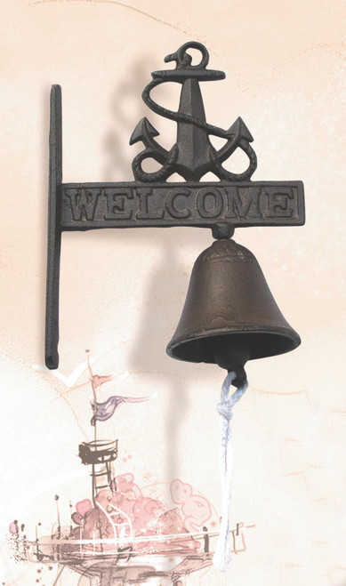 Cast Iron Welcome Bell
