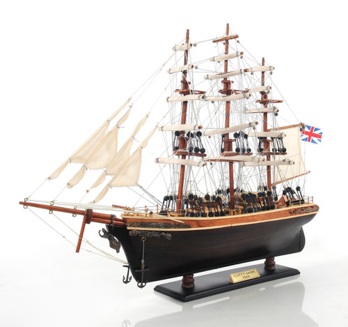 """Cutty Sark Model Ship - 22"""" w/ Optional Personalized Plaque"""