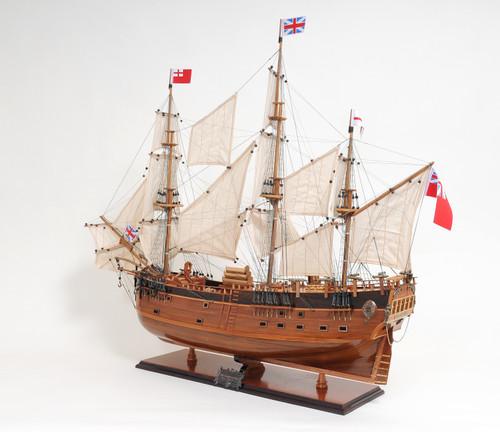 """HMS Endeavour Model Ship - 32"""""""