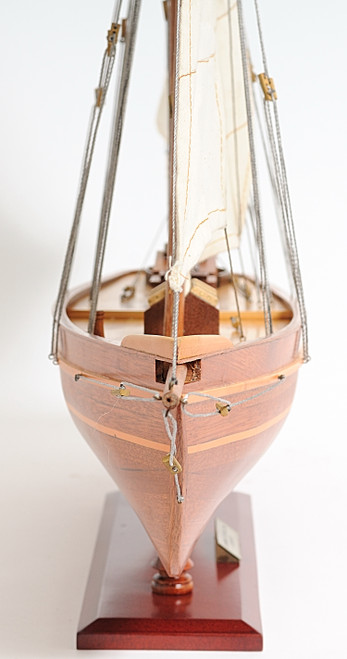 Sailboat Decor - America Model Yacht -  with Optional Personalized Plaque