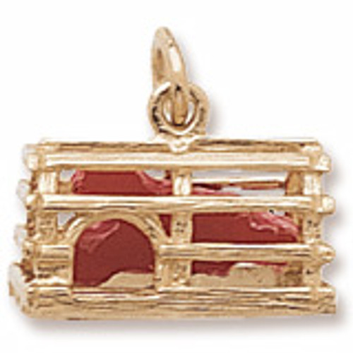 Lobster Trap Charm