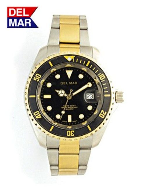 Del Mar Men's 200M Stainless Steel Sport Dive Watch - Two Tone