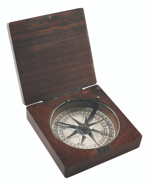 Decorative Compass - Lewis and Clark