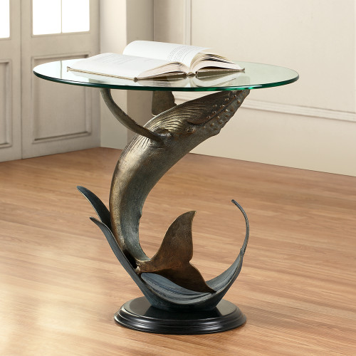 Whale End Table