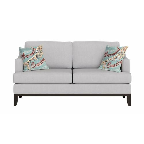 "Frontporch ""Mermaid Crossing"" Indoor/Outdoor Throw Pillow - Lifestyle 1"