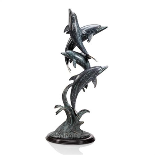 Oceanic Ballet (Dolphin Quartet) Sculpture