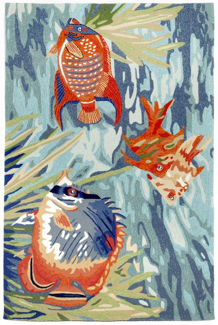 Tropical Fish Ocean Rug