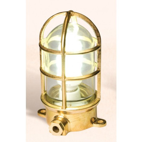 Brass Oceanic Lamp - 7""