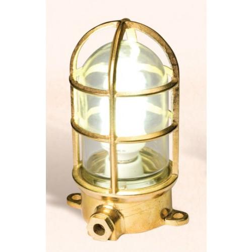 """(BL-862) 7.75"""" Brass Oceanic Lamp Fixture"""