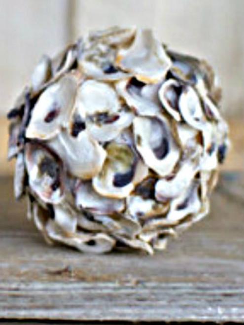 Oyster Shell Sphere - Minimum 3