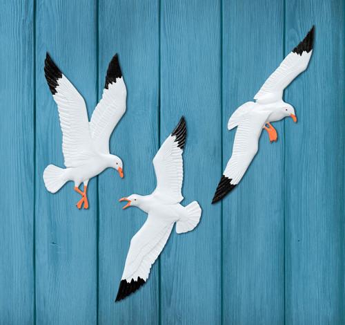 Seagull Trio Wall Decor