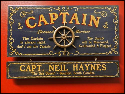 Nautical Decor by Theme - Pirates, Captains and Sailors
