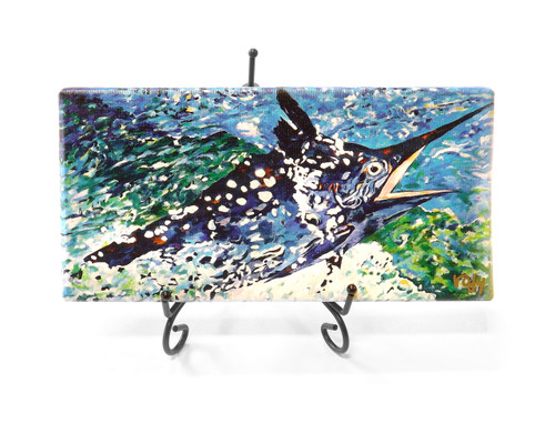 Big Black Marlin - Giclee Print