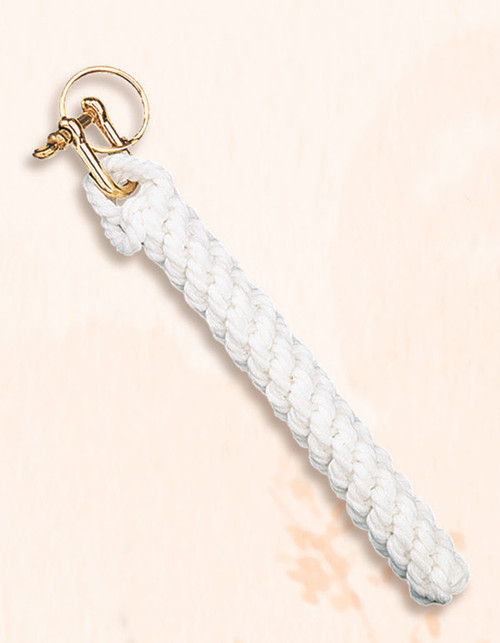 Brass Key Chain - Bell Rope