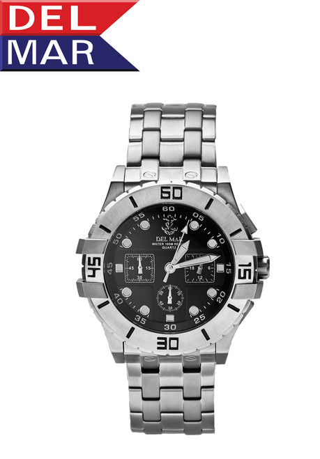 Del Mar Men's Anchor Dial Chronograph