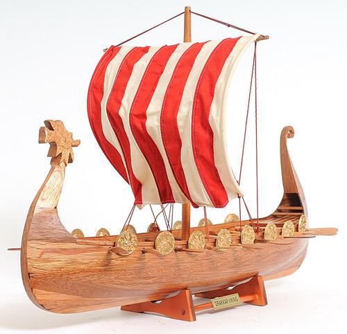 Drakkar Viking with Optional Personalized Plaque