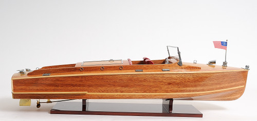 Chris Craft Runabout with Optional Personalized Plaque