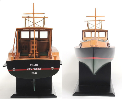 Hemingway™ Pilar Fishing Boat  with Optional Personalized Plaque