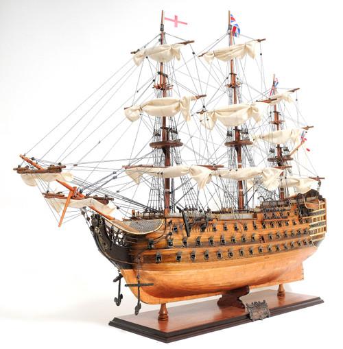"HMS Victory Copper Bottom Model Ship - 32.25"""