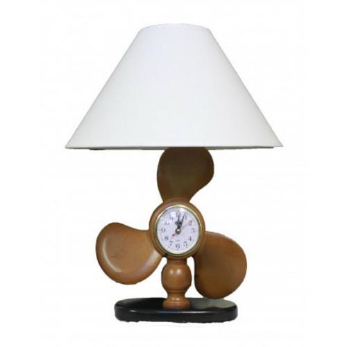 "Propeller Clock Lamp - 18"""