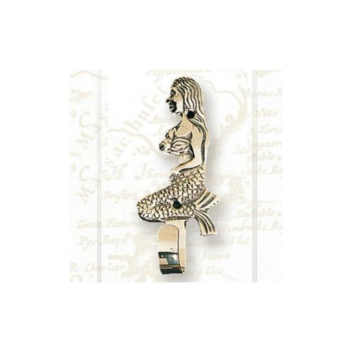 Brass Coat Hanger - Mermaid